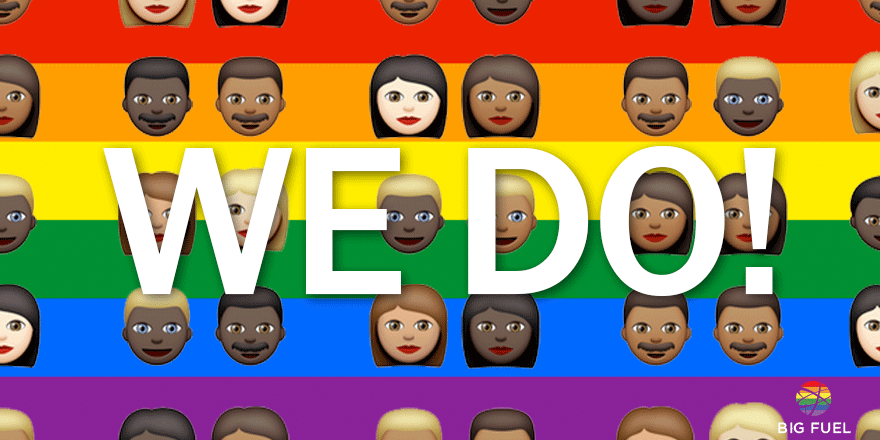 At last, love is all you need. #LoveWins #Pride2015 #MarriageEquality http://t.co/ht0feEnZg5