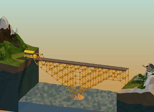 """I love when you """"complete"""" a bridge project in the worst possible way. #polybridge http://t.co/bYCMBhfLxf"""