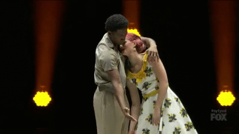 RT @DANCEonFOX: WOW! RT if you think these two played the part perfectly! #sytycd http://t.co/zOVyXyMUJ3