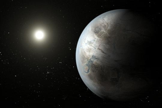 Kepler-452b, Earth's bigger, older cousin in 'habitable zone' around sun-like star http://t.co/kEdzbbFEqE @NASAKepler