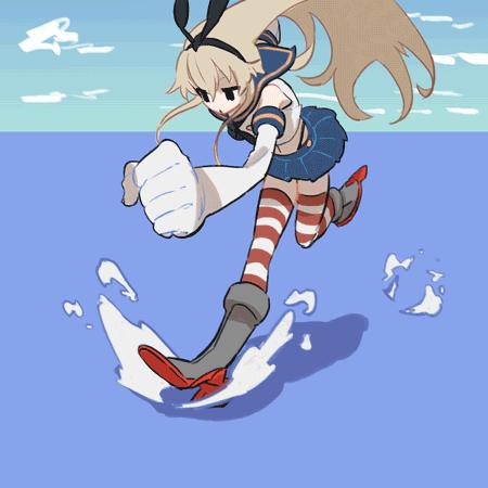 海をかける少女、島風の如し http://t.co/P44XYIbm1A