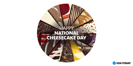 Is #cheesecake *really* a cake? Who cares. It tastes amazing, and we need some now. #NationalCheesecakeDay