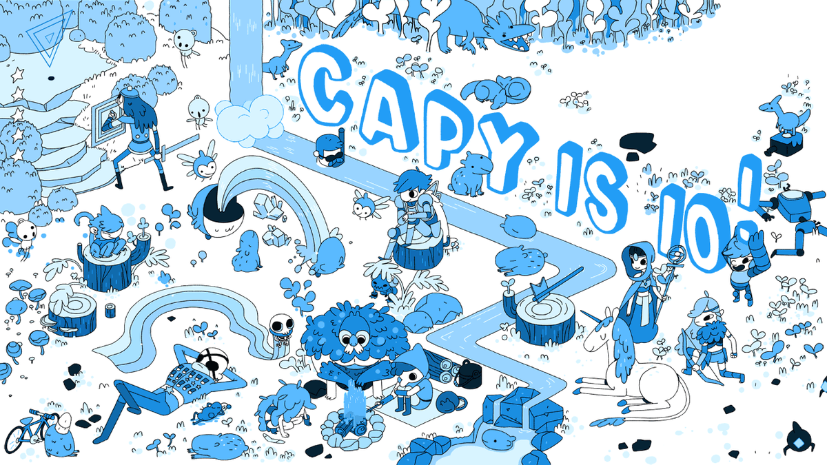 Well, today is a pretty huge day. Capy is celebrating our 10th anniversary as a studio. I am really damn proud. http://t.co/8AxdPVFWXz