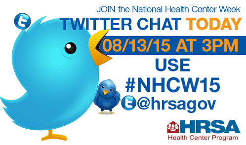 Thumbnail for National Health Center Week Twitter Chat (#NHCW15)