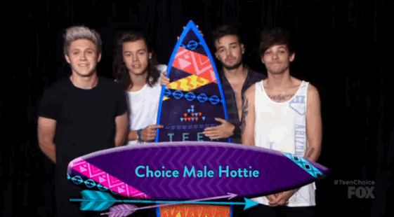 Congrats to one of tonight's biggest winners: @onedirection! #1D #TeenChoice #TeenChoiceAwards http://t.co/1KaqAbpiEc