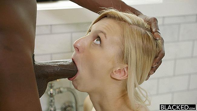 Girl Deepthroats Big Dick