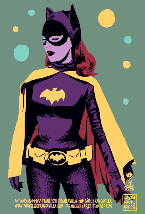 ~~ BATGIRL '66 ~~ In loving memory of the late, great Yvonne Craig. http://t.co/4mGxFRnFzK