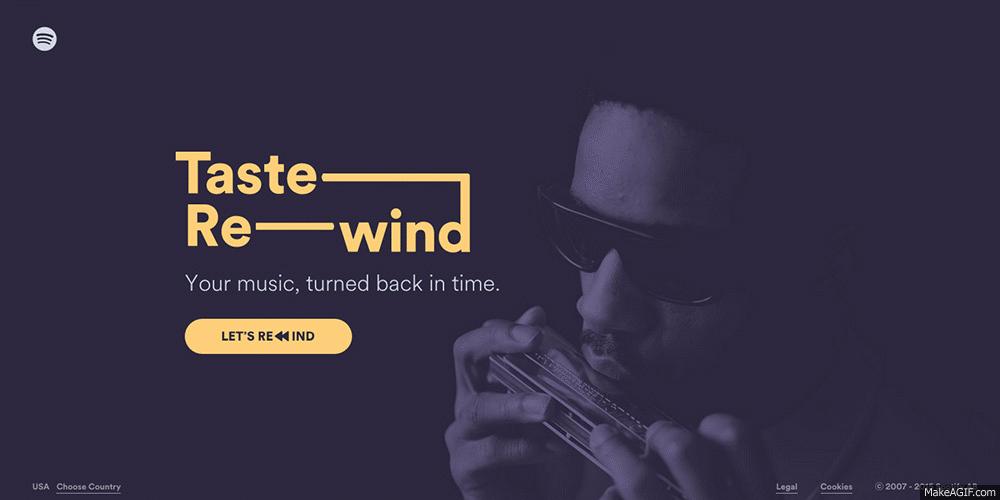 RT @awwwards: Bravo! @stinkdigital (U.S.A.) you win #SOTD for #TasteRewind - musical time travel! http://t.co/64k21rSsfX  #spotify http://t…