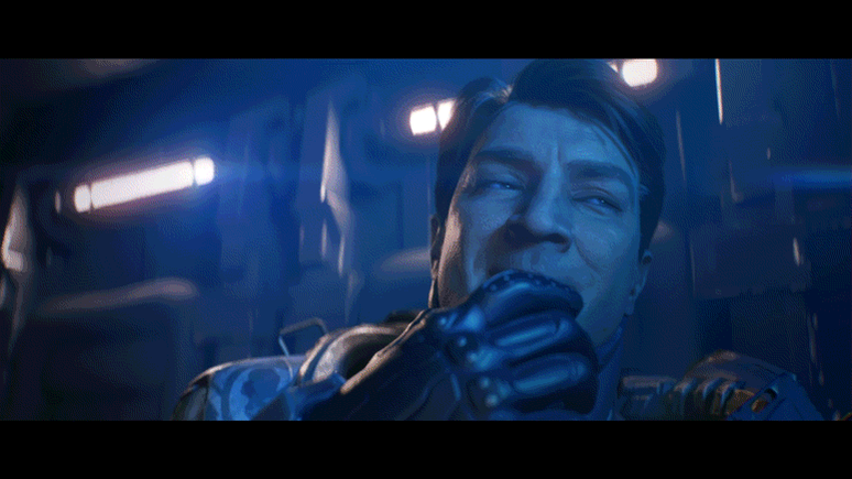 Later tonight.   @NathanFillion is ready.   Are you? @Halo http://t.co/9d1RbWRyfX