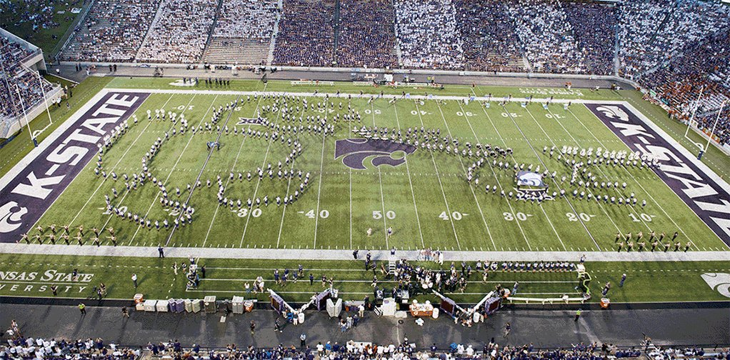 Kansas State Marching Band Apologizes After Mass-Scale 'Blowjob' Incident