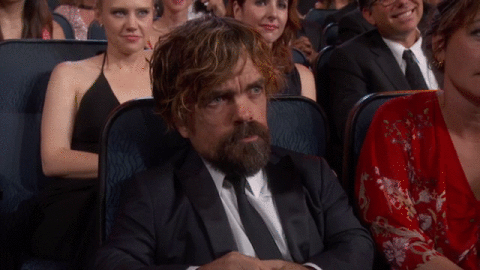 .@Peter_Dinklage reacting to his #Emmys win! http://t.co/ToyJ8iFY3C