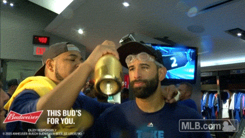 The Toronto @BlueJays are American League East Champions! #ClinchDay #Clinchmas #ComeTogether http://t.co/pW4aZlDWOE
