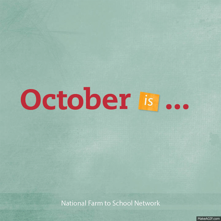 Happy National #FarmtoSchool Month! Let's celebrate! http://t.co/GKJPMpe0j9 #F2SMonth http://t.co/B8a6hPrTGu