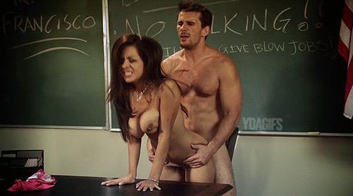 Hot naked teacher gif — pic 10