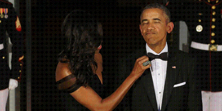 The Internet Helps Michelle Obama Adjust The President's Tie In Hilarious Photoshop Battle http://t.co/lxezbAnZ3n http://t.co/ziTmIuFWDf