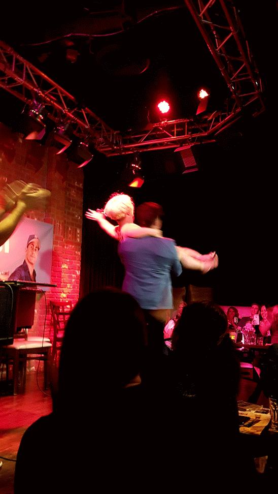 LMFAO at @adamraycomedy spinning Brad Williams last night! @joeymcintyre https://t.co/hqqnpEkW8T