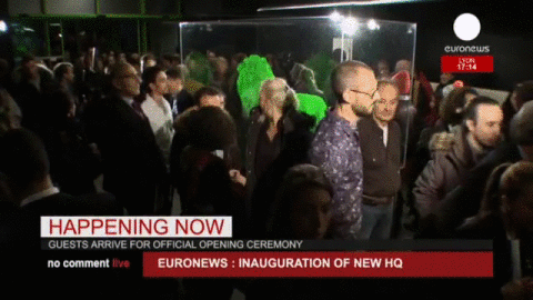 Euronews On Twitter No Comment Live Euronews15 Inauguration Of Our New Hq Guests Arrive For The Official Ceremony Http T Co Nuwdmokmzf
