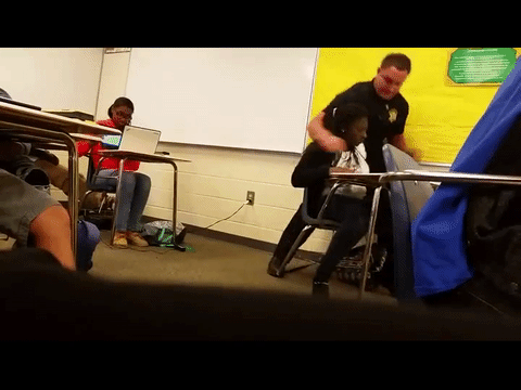 3rd video shows best angle of Deputy Ben Fields video: https://t.co/bueHEw17zy #AssaultAtSpringValleyHigh #breaking https://t.co/vk0D30y5iu