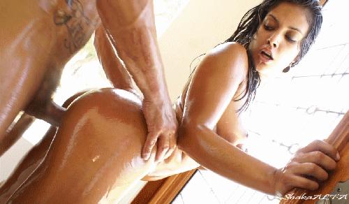 Gif latina oiled girl porn #12