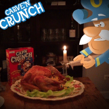 Carv'n Crunch. #CulinaryCapn #Thanksgiving https://t.co/VpvLa1t1Hs