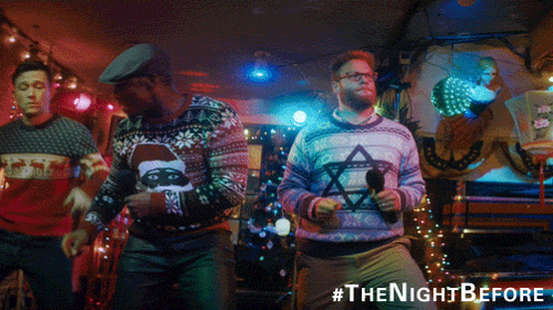 RT @SonyPicturesUK: ONE MONTH TIL CHRISTMAS! 🎁🎅🎄 Get your Christmas fix early when #TheNightBefore hits cinemas next Friday! https://t.co/i…