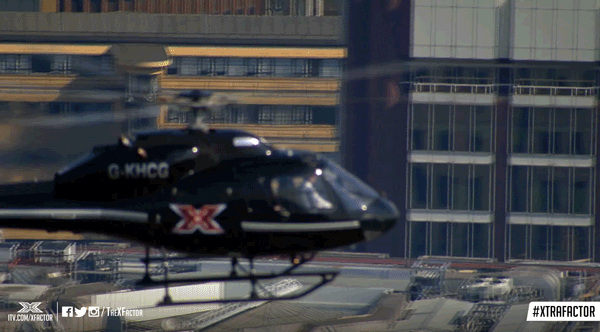 It's time to make your journey towards the sofa... Less than 15 MINUTES until #XtraFactor lands! 🚁❌ https://t.co/avVJsIsRW4