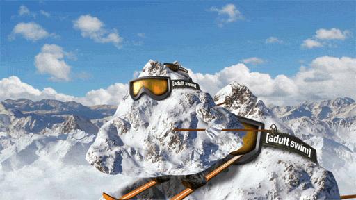A mountain, skiing down a mountain, skiing down a mountain... https://t.co/rZ3zdVOlPb
