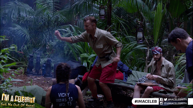 Get on your dancing shoes, we're on in 30 minutes! #ImACeleb https://t.co/jO6eX53tyw