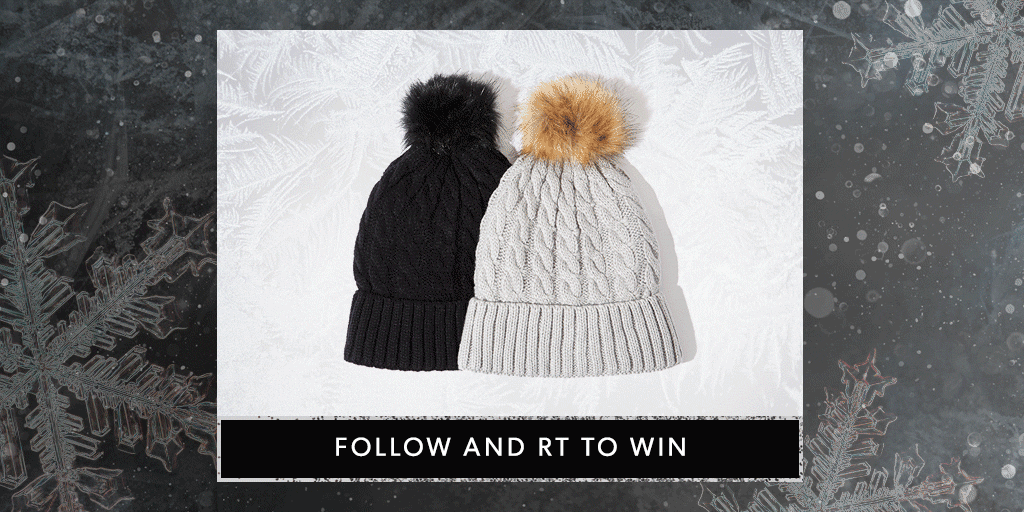One for you, one as a present. Follow & RT to #win a pair of cosy hats. https://t.co/QHy5tSMLT6 T&Cs apply #NLadvent https://t.co/Vg4ycKJPpT