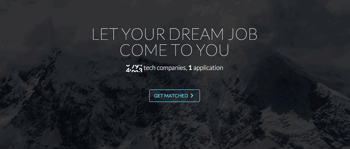 Let your dream job come to you! Get matched with over 6,000+ companies on https://t.co/KKm9iBkwPu https://t.co/IO0HWMcClu