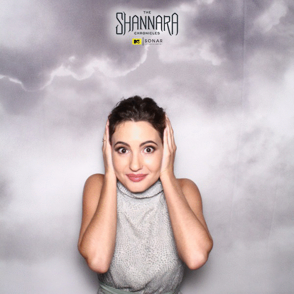 @ivanabaquero_ being Ivana! #PhotoBooth #Shannara @Shannara @DiscoverSonar @MTV https://t.co/Jgk16M5bWV