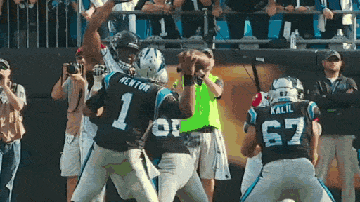 Cam Newton is very good. https://t.co/8OvVr2uf9x