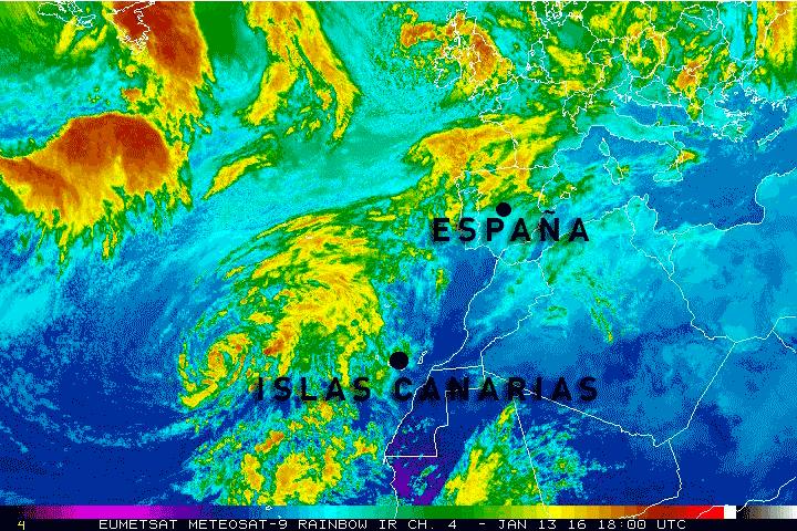 Evolución del huracán #Alex. Fijaos qué cerca pasa de España. Es un hecho insólito un huracán en estas fechas. https://t.co/kdE25JKhrD