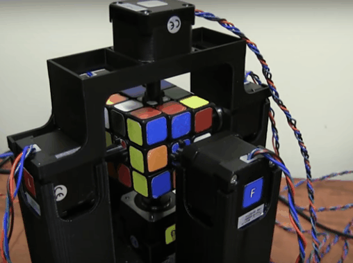 Amazing 3D Printed Arduino-powered Robot Can Solve the Rubik's Cube in Under 2 Seconds https://t.co/NEU27g4lGJ https://t.co/CPnGUuo4fU