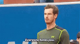 Happy 30th birthday Andy Murray ( I, for one, don\t hate you.