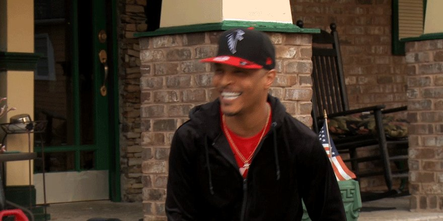 Us when @Tip called @IamDomani 'goofy'. 😂 #FamilyHustle https://t.co/5...