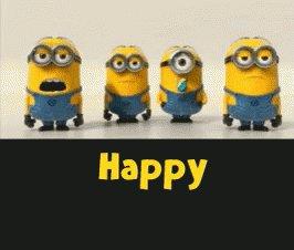 Happy birthday - Feliz aniversário