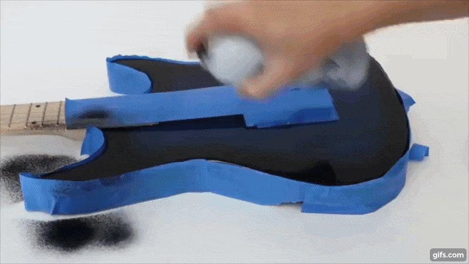 カーネギーメロン大学、スプレー塗料を吹きかけた物体をタッチパッドにする低コストの技術を発表。ほぼ全ての形状/表面のオブジェクトが変換可能。ギター、ステアリング、スマートフォンの裏など shiropen.com/2017/05/09/247… pic.twitter.com/pzaZBT3xEJ