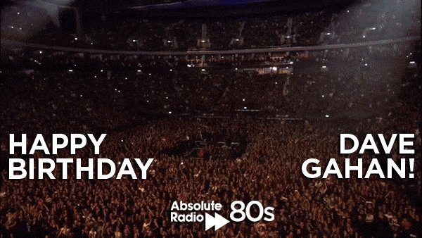It\s just a question of time... a massive happy birthday to Dave Gahan of on his 55th!