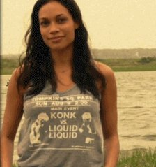 Happy birthday to my beautiful wife, Rosario Dawson