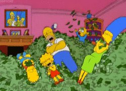 Happy birthday James L. Brooks! Like you, we re far richer for investing in Homer Simpson: