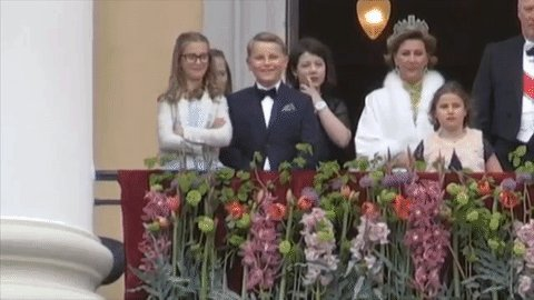 MEDIA: The Prince of Norway during a royal ceremony