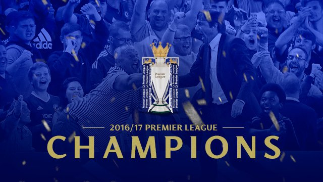 CHELSEA ARE PREMIER LEAGUE CHAMPIONS! 🏆  #ChelseaChampions