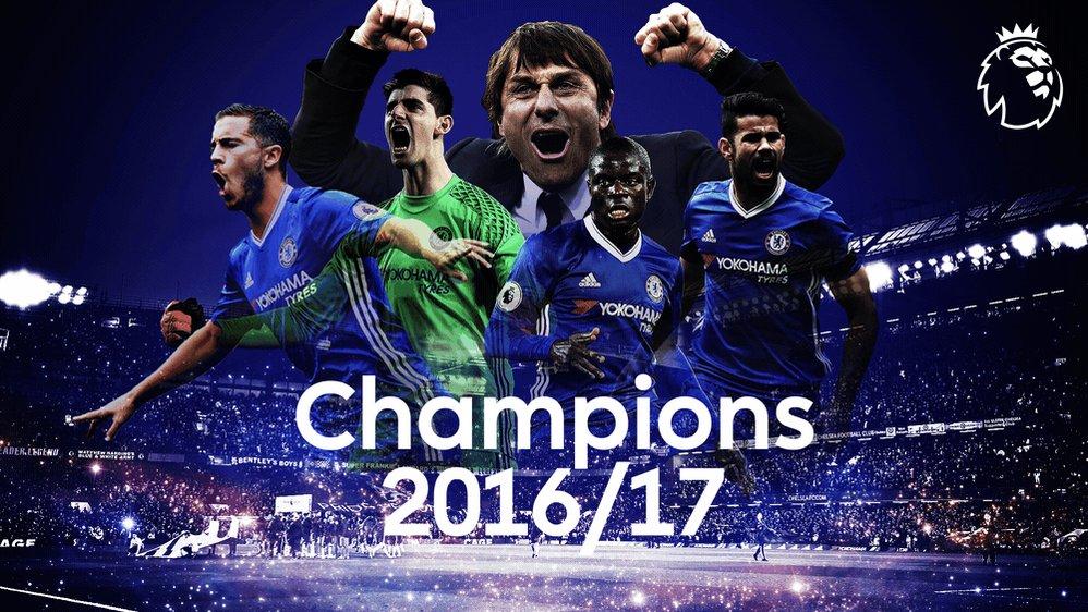 Congratulations @ChelseaFC!  Premier League Champions 2016/17
