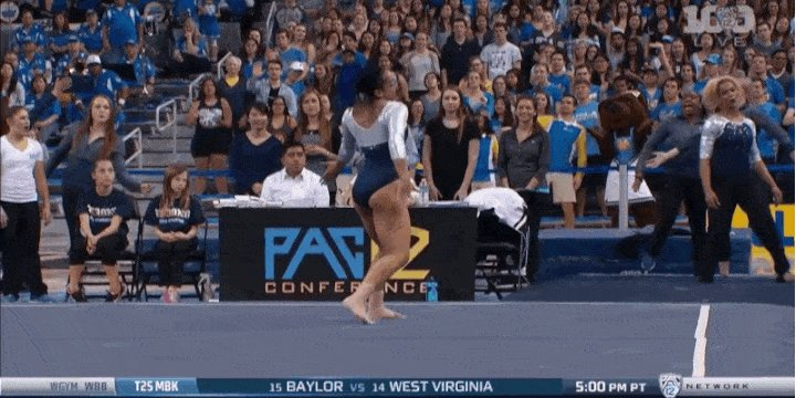 AMAZING! Gymnast Sophina DeJesus Includes The Whip, The Nae Nae, And The Dab In Epic Floor… https://t.co/qJZ5MYiQAy https://t.co/kBz9pjVB8R