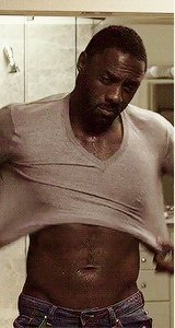 Idris... We already know you're hot, we don't need to see your abs through your shirt.  ... said no one ever. https://t.co/lmyCkqWUK3
