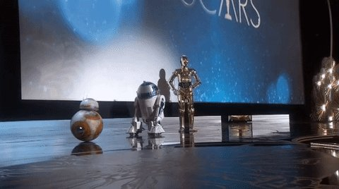 When you see robots in IRL #Oscars https://t.co/30j9BdLwS4