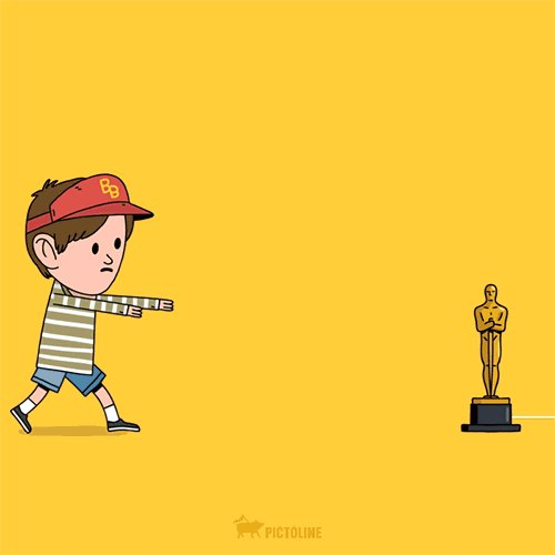 Today's news more or less covered. #DiCaprio #Oscars https://t.co/iPogFCWKuJ