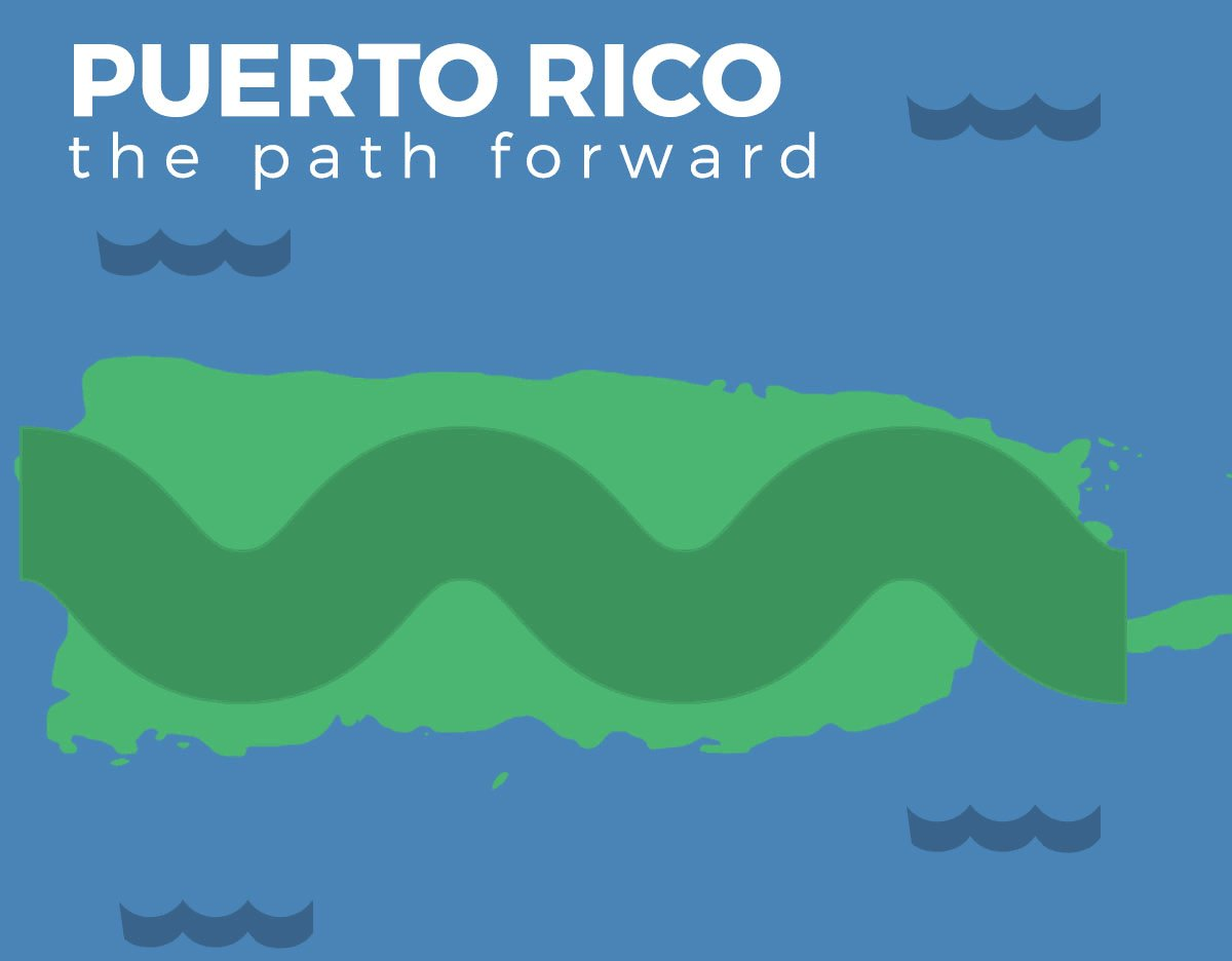 Barely afloat with $70 billion in debt, the path towards long-term economic stability in #PuertoRico is clear. https://t.co/N9h1K9S0Jf