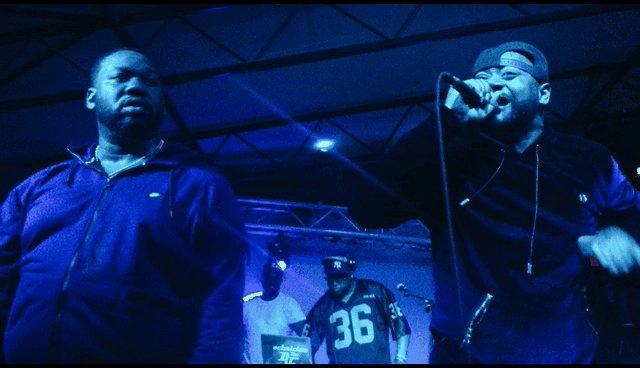 The legendary @Raekwon + @GhostfaceKillah on stage at @mohawkaustin #PeakJoy